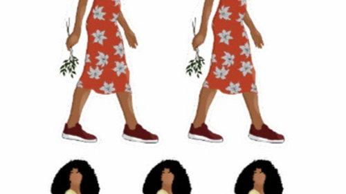 Flower Queen Sticker Sheet