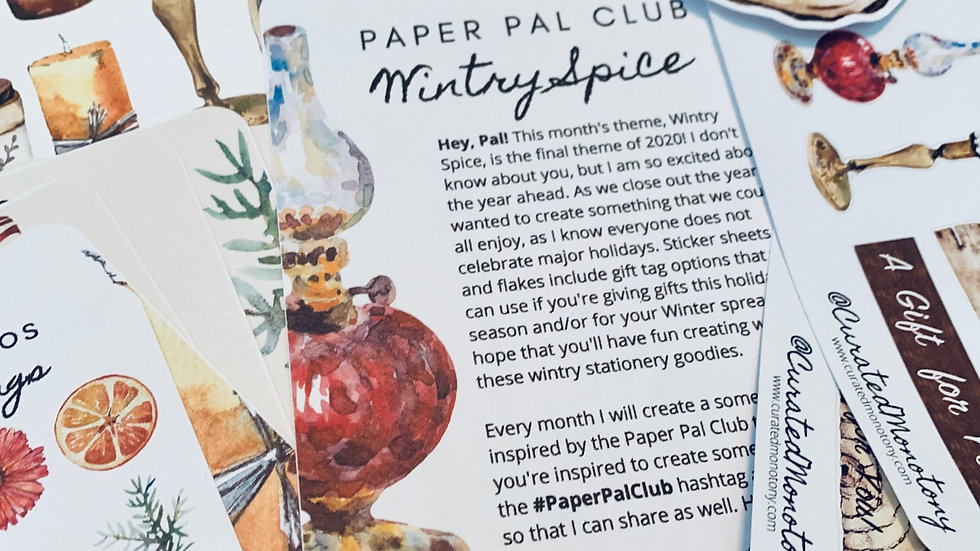 Paper Pal Club Gift Subscription