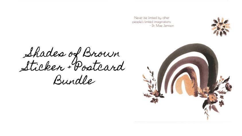 Shades of Brown BUNDLE