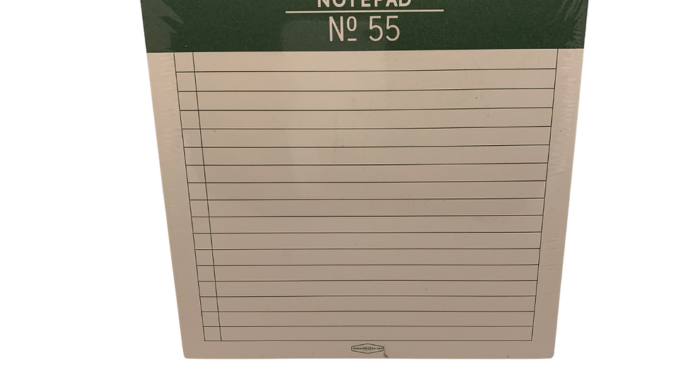 Standard Issue Notepad