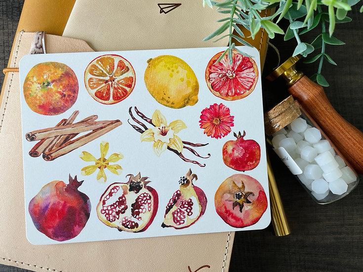 Spice Postcard