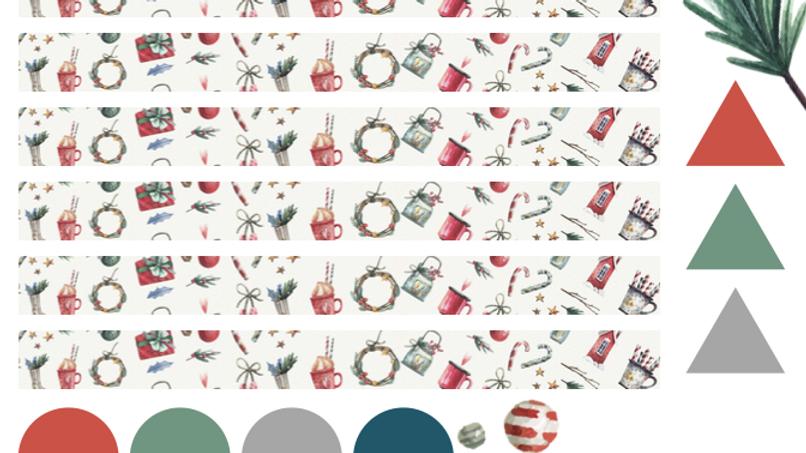 'Tis the Season Washi Stickers