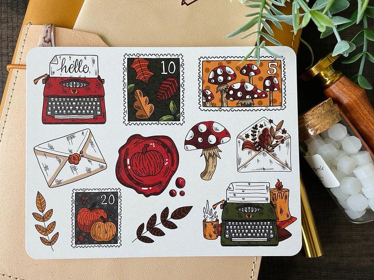 Fall Mail Postcard