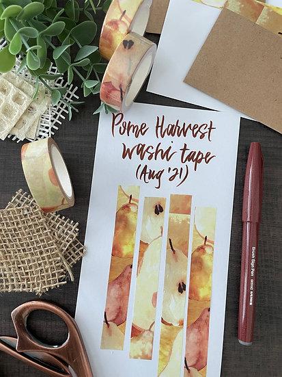 Pome Harvest Washi