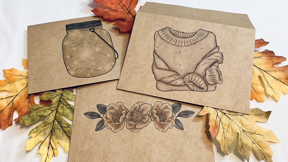 Fall Envelope Set