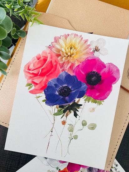 Bloomz Postcard