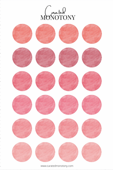 Ignite Sticker Sheet
