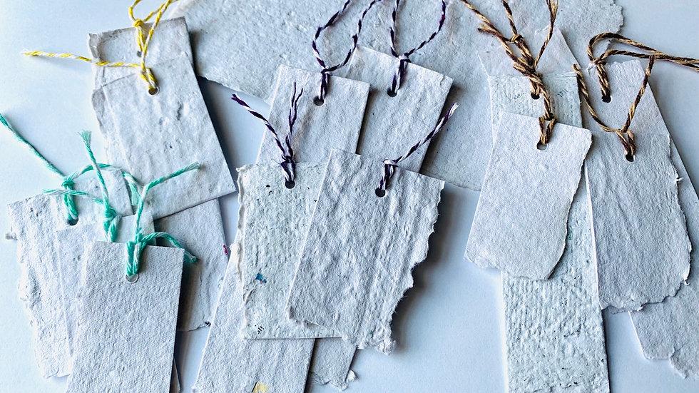 Handmade Paper Tags