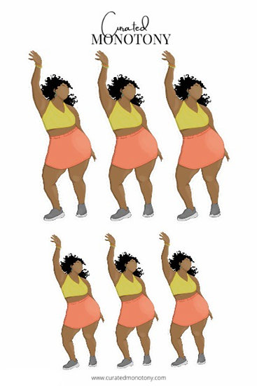 Dancin' Sis Sticker Sheet