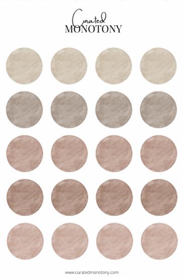 Drip Sticker Sheet