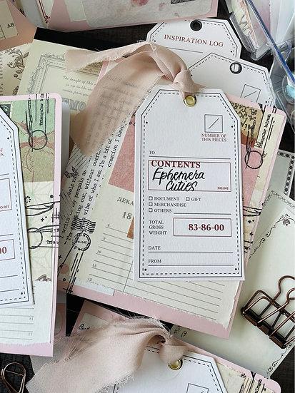 Ephemera Cutie Pocket Folder