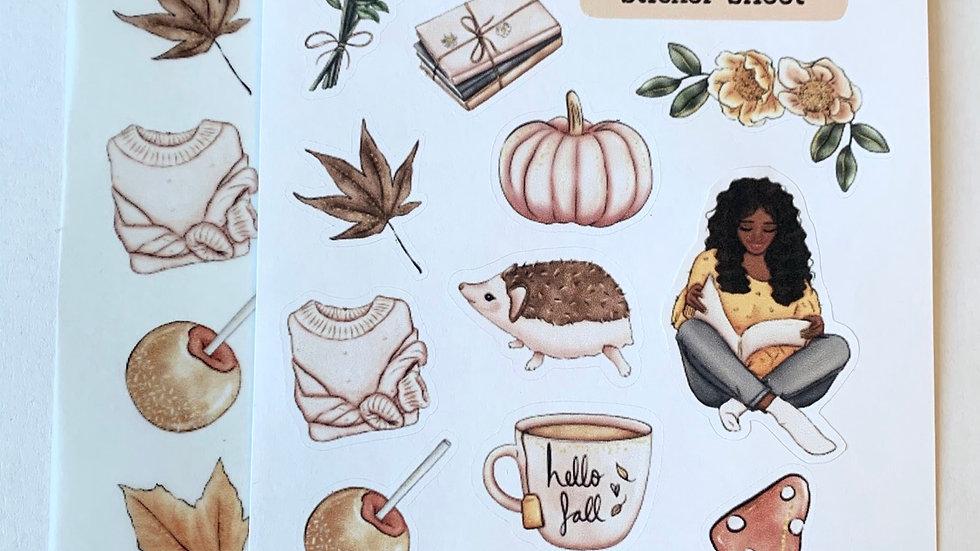 It's Fall Y'all Sticker Sheet