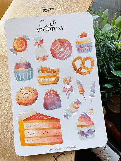 Sweet Tooth Sticker Sheet