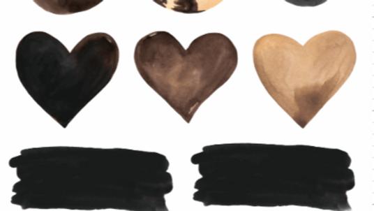 Chocolate Chai Sticker Sheet