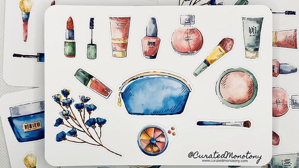Makeup Bag Stickers