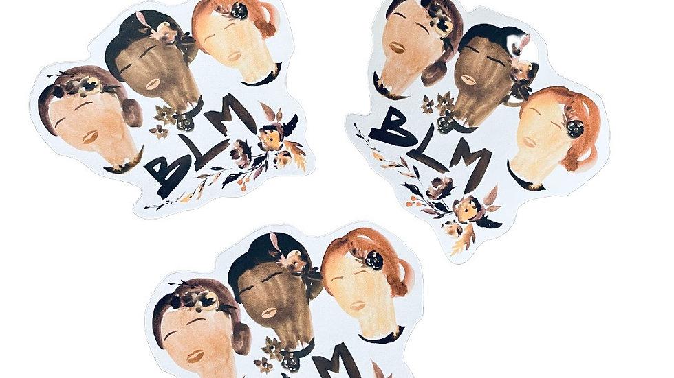 Melanin Joy Die Cut Sticker