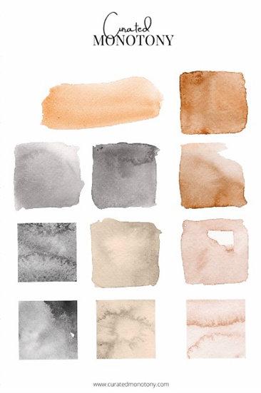 Neutral Palette Sticker Sheet