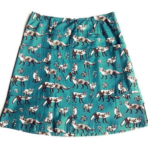 Pocket Skirt  Fox size M