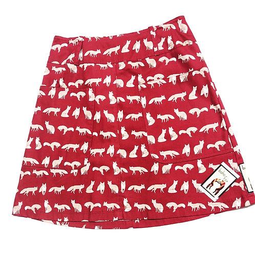 Red Fox Skirt Large