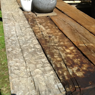 Railway Sleeper Decking