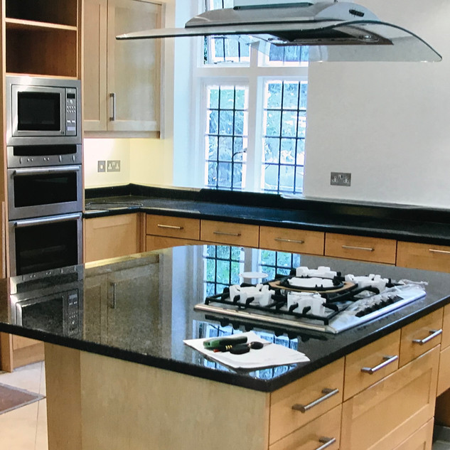 Kitchen - done in conjunction with Working Kitchens
