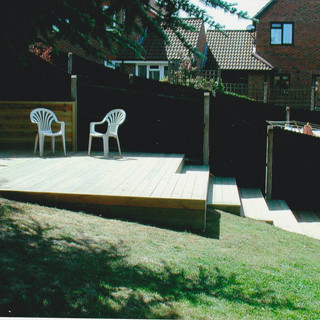 Elevated Decking