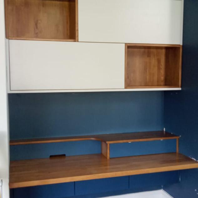 Bespoke wall cupboards