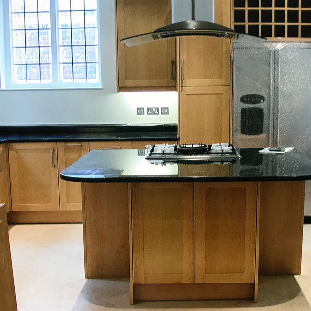 Kitchen - done in conjuction with Working Kitchens