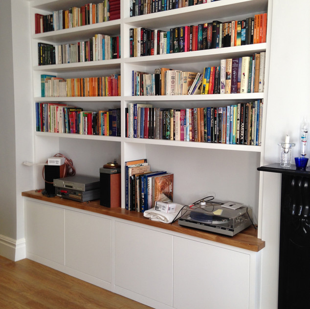 Bespoke Bookcase & Storage