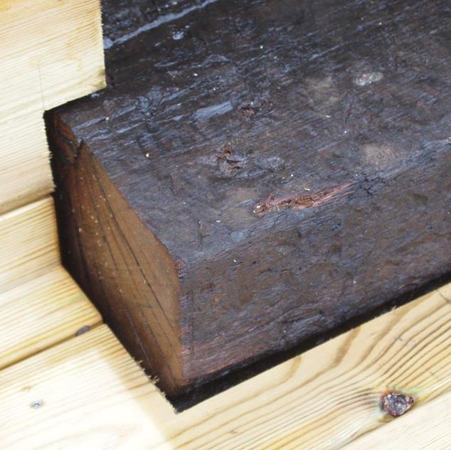 Hardwood & Railway Sleeper Decking