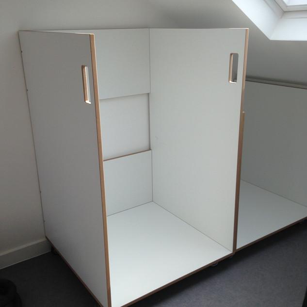 Bespoke Artist Canvas Storage Unit