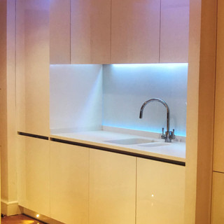 New build Kitchen with besoke cabinets