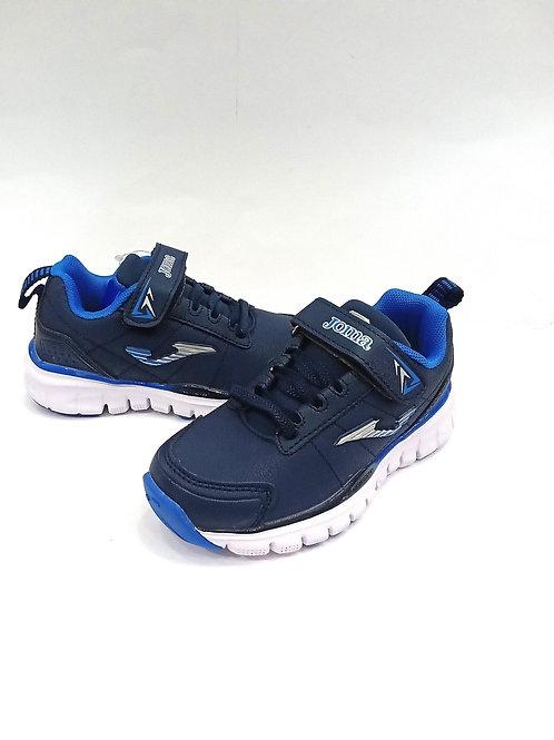 Scarpe da ginnastica bambino modello running plantare memory foam lacci elastici