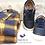 Thumbnail: Scarpe bambino sneakers in pelle con lacci elastici e zip laterale Oldsoles