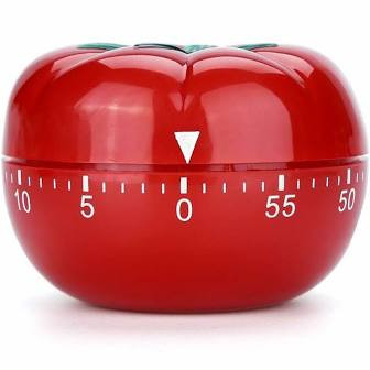 kitchen timer shaped as a tomato