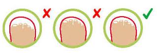 Quanto spazio deve rimanere tra la scarpetta ed il piede? Scopri la calzata giusta.