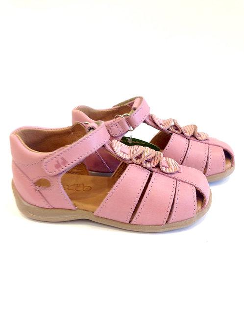 Sandalini primi passi rosa bimba anatomici in pelle Froddo