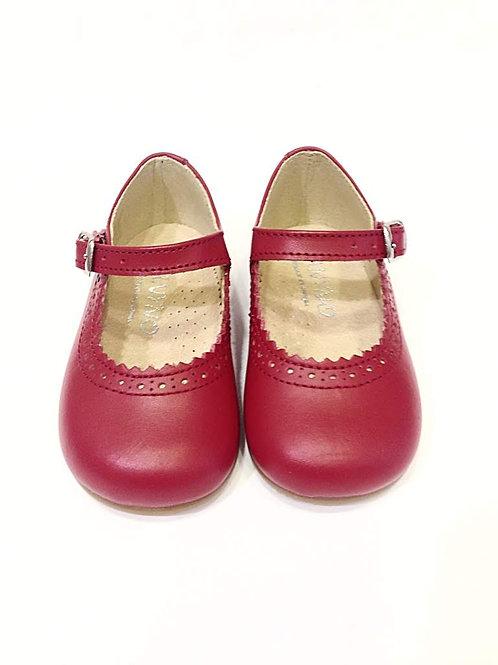 Scarpe bambina ballerine mary jane rosse