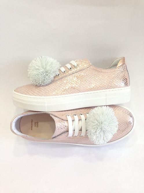 Sneakers bambina ragazza 39 scarpe sportive in pelle rosa con plantare SCONTATE