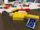 Close of picture of legos used in an A2Agile class.