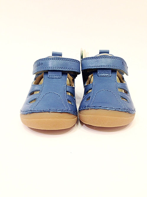 Scarpe aperte sandali primi passi bimbo anatomiche in pelle con plantare Froddo