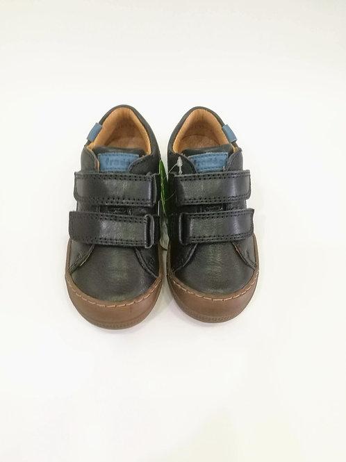 Scarpe bambino sneakers in pelle con plantare e apertura a strappo Froddo