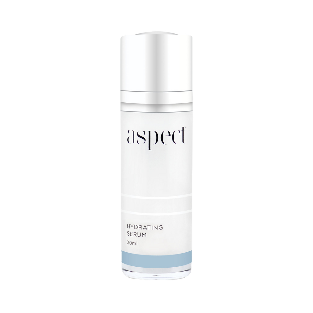 A skin quenching serum containing Hyaluronic Acid to bind moisture and replenish hydration.