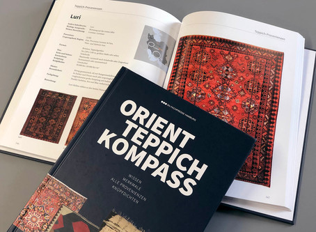 New reference book: Orienteppich Kompass – Everything beginners need to know