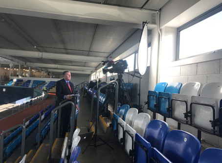 Norman Media provide live facilities for RTÉ News