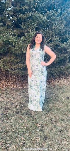 Tunic dress in long