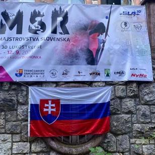 Majstrovstvá Slovenska SLA 3D 2021