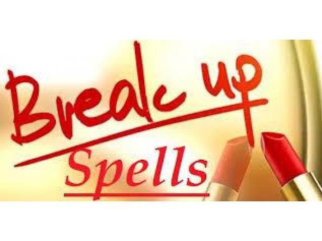 Break-up spells in Roswell, GA