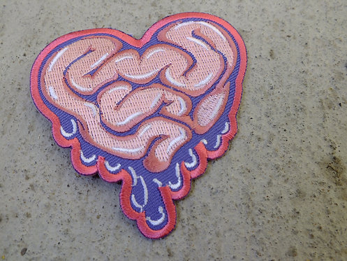 """""""I Love Candy Gore"""" Embroidered Iron-On Patch"""