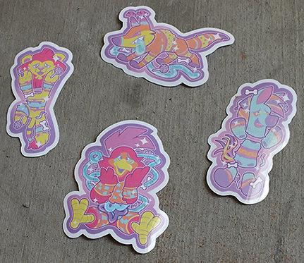 La Dulce Vida Stickers
